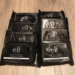 Elf 8 Makeup Remover Exfoliating Cleansing Cloths